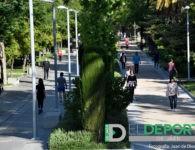 Los jiennenses salen a la calle para hacer deporte tras 48 días de confinamiento
