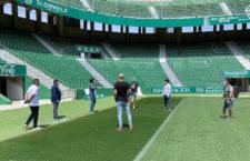 Los jienenses de Primera y Segunda División se someten al test del Covid-19