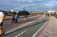 """""""Buena acogida"""" de los itinerarios para pasear o practicar deporte en Las Fuentezuelas y Bulevar"""