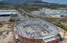 El Olivo Arena, al 40% de su ejecución