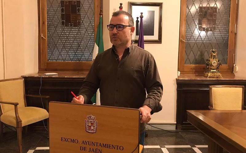 Carlos Alberca, concejal de Deportes del Ayuntamiento de Jaén