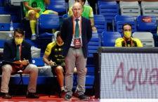 El técnico jiennense en el Martín Carpena. Foto: RFEF.