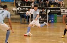 El jiennense en su etapa en Santiago Futsal. Foto: LNFS.
