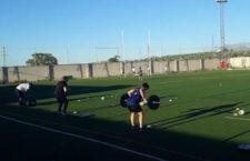 Vuelta al trabajo físico. Foto: Jaén Rugby.