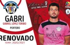 Gabri competirá por un puesto en la portería del Atlético Porcuna
