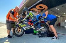 Primeros test de Jesús Torres con el HMA Racing en Cheste