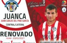 El Atlético Porcuna anuncia la renovación de Juan Carlos Del Pino