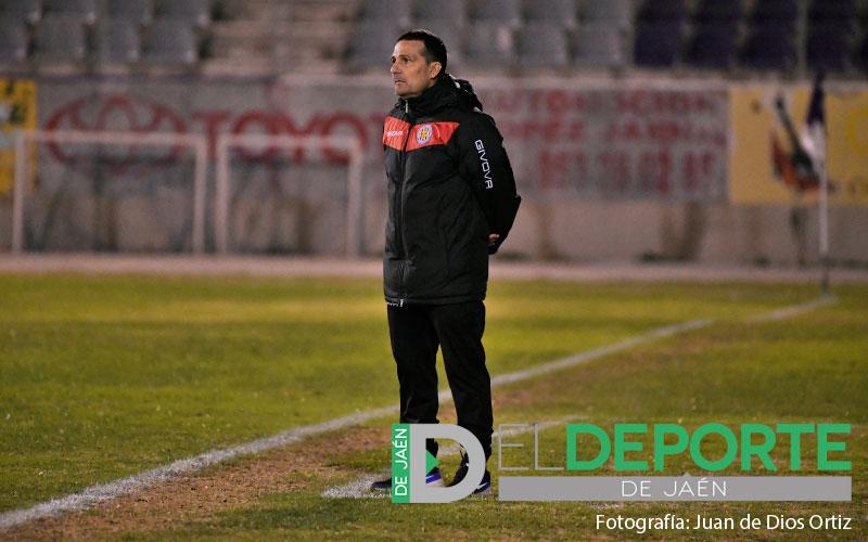 manolo chumilla, entrenador de la UDC Torredonjimeno