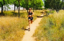 Atletas como Natalia Romero vuelven a la actividad. Foto: Natalia Romero.