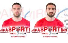 Padilla y Virgilio, primeras renovaciones del CD Torreperogil