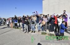 La afición del Real Jaén ultima detalles para la caravana de protesta