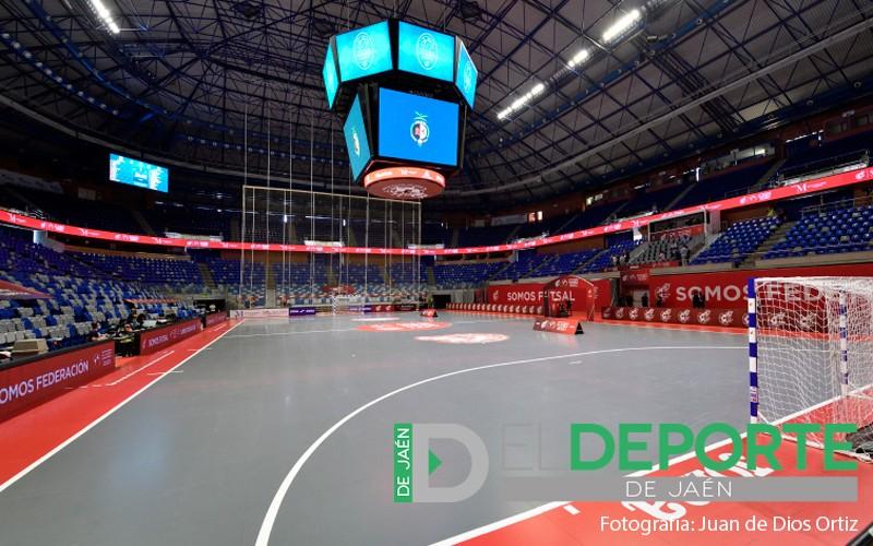 pabellón de fútbol sala