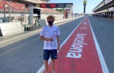 Jesús Torres se prepara para su segunda cita en el ESBK Moto4 en Barcelona
