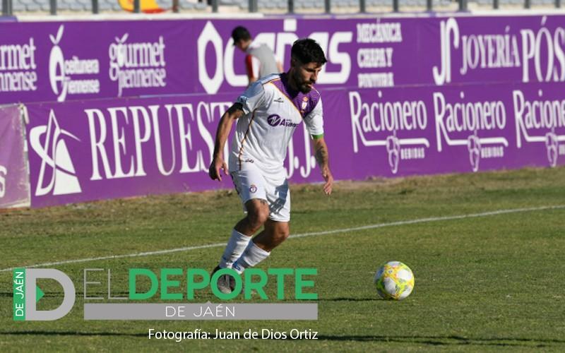 Juanma Espinosa cumple 200 partidos con el Real Jaén