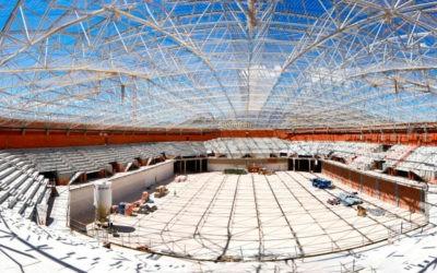 Estado actual de las obras. Foto: Construcciones Calderón.