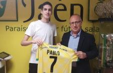 El joven canterano debutará en Segunda División. Foto: Jaén FS.