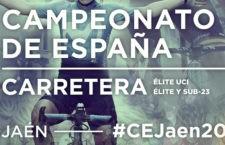 Jaén se reencuentra con ciclismo de máximo nivel en la cita histórica del campeonato nacional