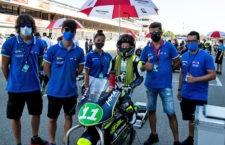 Jesús Torres, cerca del podio en la prueba del Nacional ESBK Moto4 celebrada en Barcelona