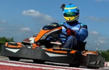 Estreno positivo de Juan Luis Real en el torneo RKS de Rental Karting