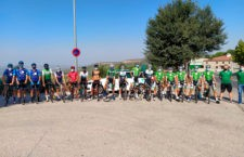 Concentración en Baeza. Foto: Fed. And. Ciclismo.