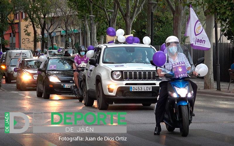 caravana protesta real jaén