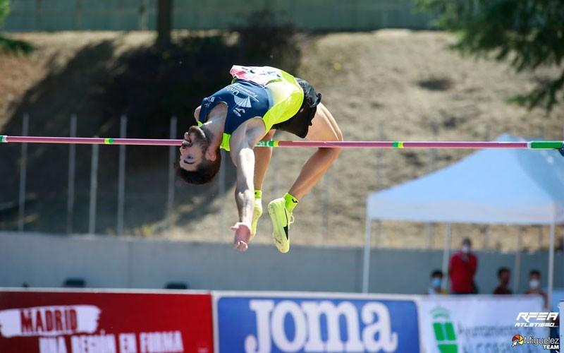 carlos rojas campeón de españa salto altura