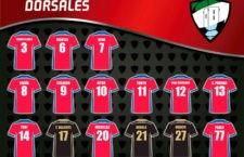 El Mengíbar FS da a conocer los dorsales de su plantilla para la 20-21
