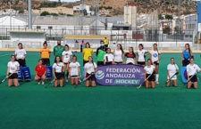 La selección sub'18 andaluza de hockey femenino retoma sus entrenamientos en Alcalá la Real