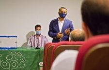 El malagueño reelegido presidente del pádel andaluz. Foto: FAP.