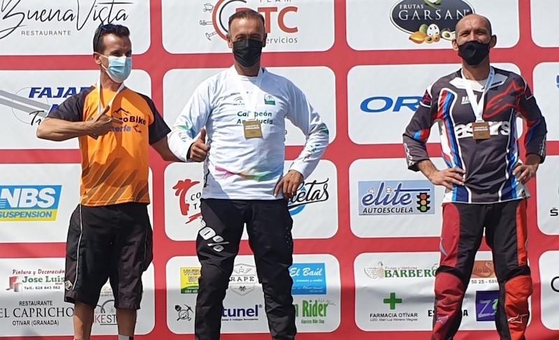 Juanfra López Nava, campeón de España de máster 40B y revalida el campeonato andaluz