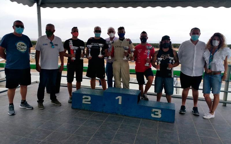 pilotos de jaén en el podio