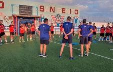 Vuelta a los entrenamientos. Foto: Atco. Porcuna.