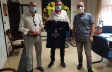 Respaldo de la Diputación Provincial y Ayuntamiento de Jaén al proyecto deportivo del Hujase Jaén