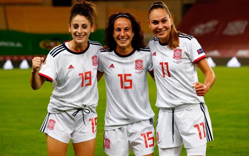 alharilla selección española fútbol femenino