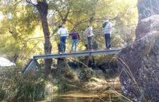 La Diputación realiza una inversión de 150.000 euros para el mantenimiento del GR 247 Bosques del Sur