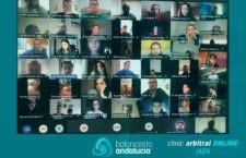 Los árbitros y oficiales de Jaén participaron en su clinic arbitral de pretemporada