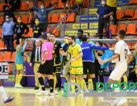 Polémico empate del Jaén FS frente a Industrias Santa Coloma