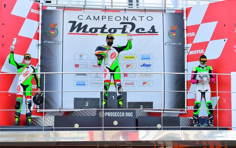 podio motos