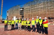 El Olivo Arena supera el 75% de su ejecución y estaría acabado a finales de 2020