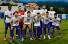 Once inicial del equipo blanco. Foto: Real Jaén.