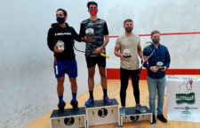 Augusto Ortigosa, campeón andaluz de squash en Jaén