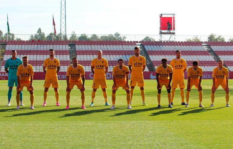 El Linares visita La Condomina. Foto: UCAM Murcia CF.