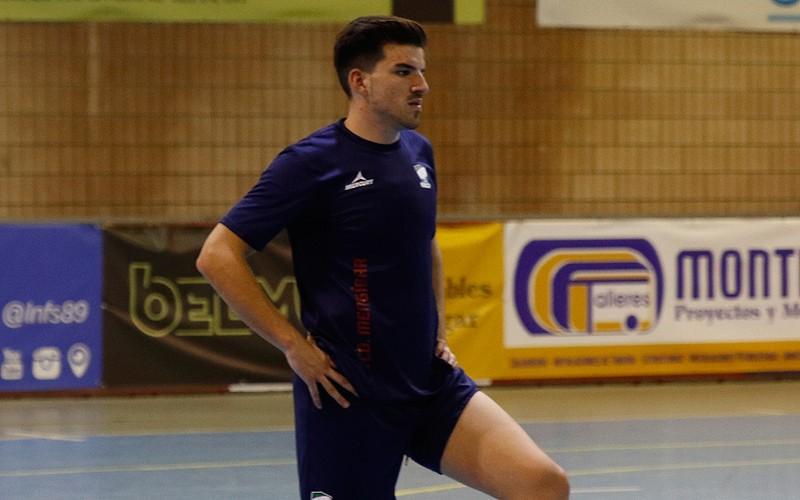 Carlos Puerma jugador del Mengíbar FS