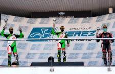 Sergio López y Bruno Baños, campeón y subcampeón del Andaluz Supersport 300