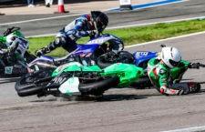 La mala fortuna se ceba con Ángel Heredia y Jesús Torres en el Circuito de Jerez