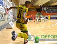Dos minutos fatales condenan al Jaén FS frente al Real Betis