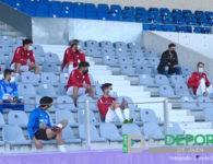 Un Real Jaén mermado por un error administrativo del club cae con el Huétor Vega (0-2)