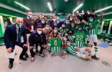 El filial bético, rival del Linares. Foto: R. Betis.