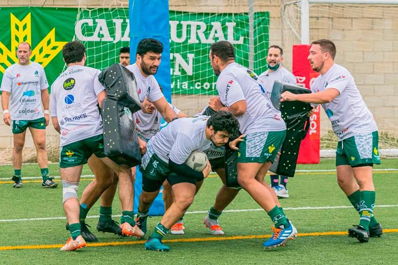 El temporal de nieve obliga al aplazamiento del partido del Jaén Rugby ante Pozuelo