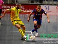 El Barça vuelve a ser verdugo del Jaén FS en la Copa del Rey